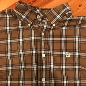 Cinch westernwear Button Down size large